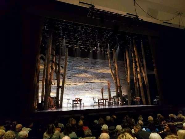 Des Moines Civic Center, vak: Orchestra, rij: E, stoel: 39