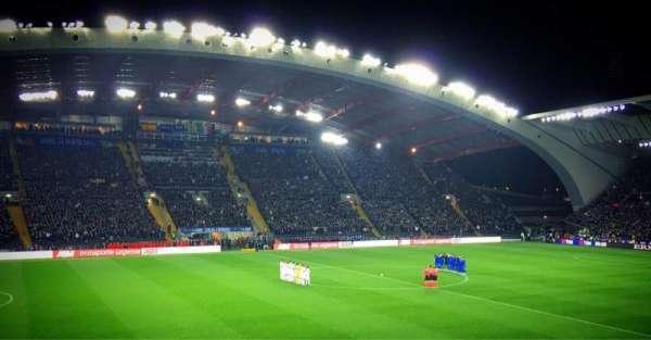 Stadio Friuli, vak: K2, rij: 15, stoel: 22