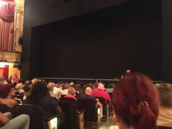 Bernard B. Jacobs Theatre, vak: Orchestra R, rij: J, stoel: 4