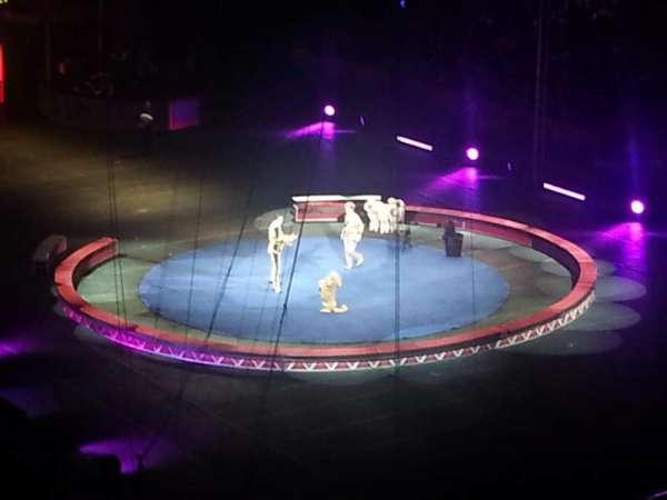Infinite Energy Arena, vak: 222, rij: D, stoel: 7