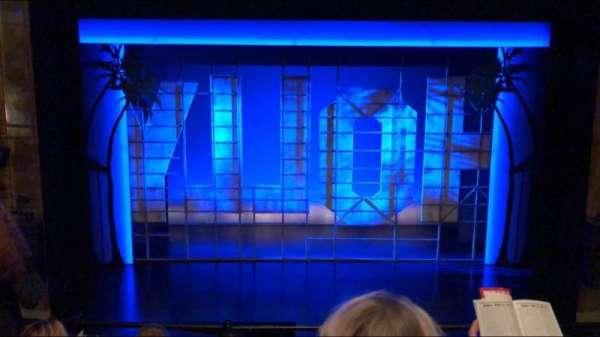 Nederlander Theatre, vak: Mezzanine Center, rij: D, stoel: 108