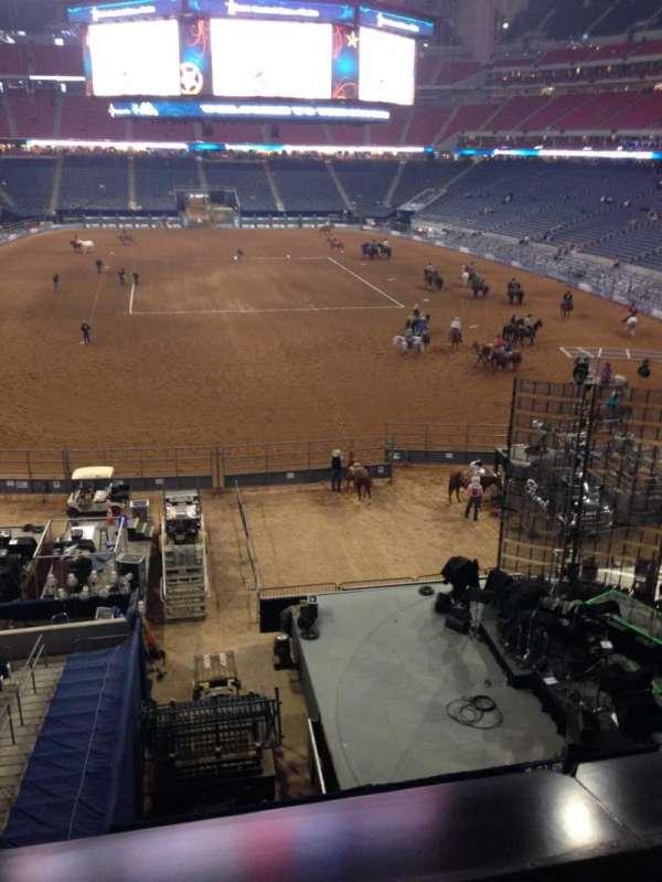 NRG Stadium, vak: 352, rij: A, stoel: 21
