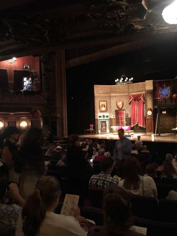 Lyceum Theatre (Broadway), vak: Orch, rij: X
