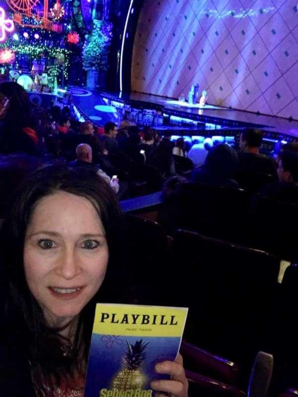 Palace Theatre (Broadway), vak: R Orch, rij: L