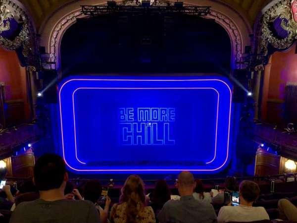 Lyceum Theatre (Broadway), vak: MEZZC, rij: G, stoel: 108