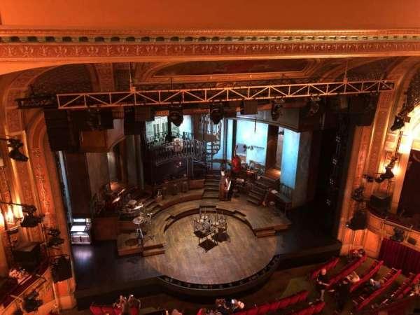 Walter Kerr Theatre, vak: BALCL, rij: A, stoel: 15