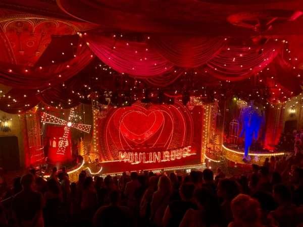 Al Hirschfeld Theatre, vak: MEZZL, rij: Q, stoel: 3