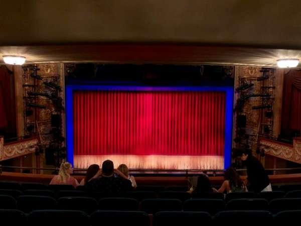 Longacre Theatre, vak: MEZZ, rij: G, stoel: 107