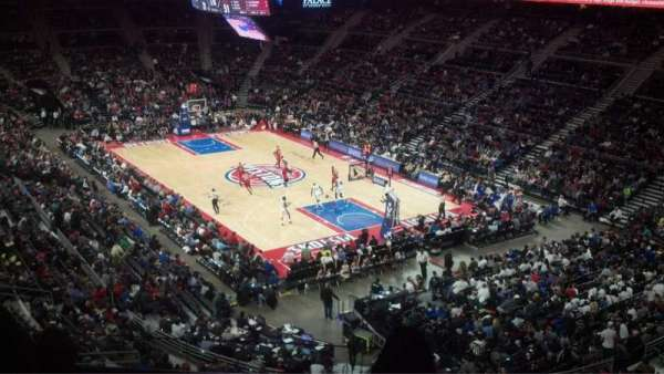 The Palace of Auburn Hills, vak: 226, rij: 10, stoel: 2