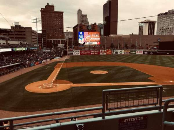 Fifth Third Field, vak: 212, rij: C, stoel: 1