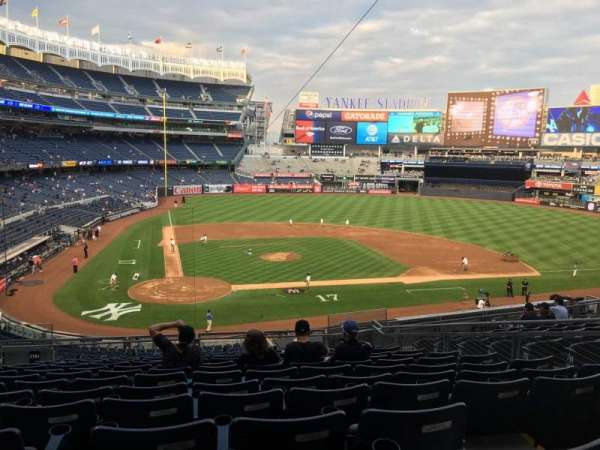 Yankee Stadium, vak: 218A
