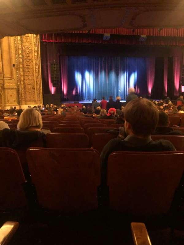 Chicago Theatre, vak: MNFL3L, rij: N, stoel: 307