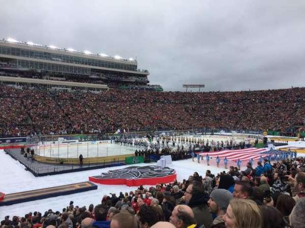 Notre Dame Stadium, vak: 13, rij: 29, stoel: 13