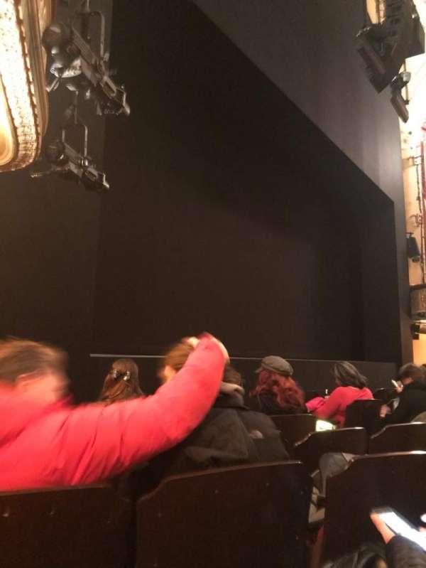 Bernard B. Jacobs Theatre, vak: Orchestra L, rij: F, stoel: 13