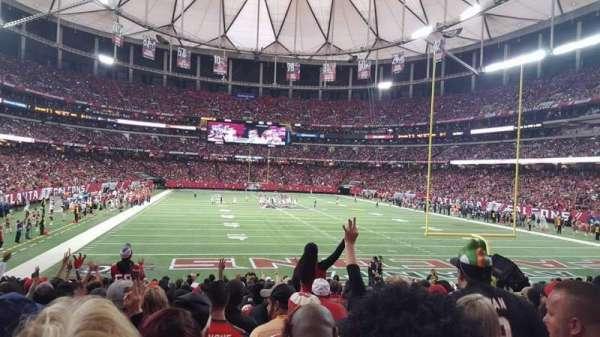 Georgia Dome, vak: 127