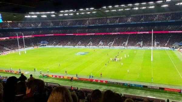 Twickenham Stadium, vak: M3, rij: 70, stoel: 67