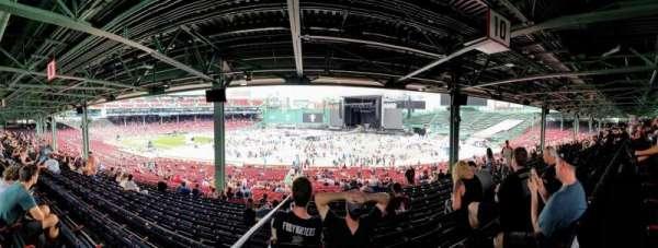Fenway Park, vak: Grandstand 10, rij: 12, stoel: 12