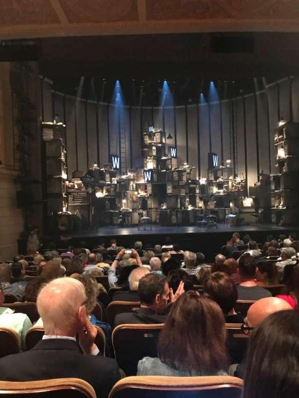 Samuel J. Friedman Theatre, vak: Orchestra, rij: M, stoel: 107