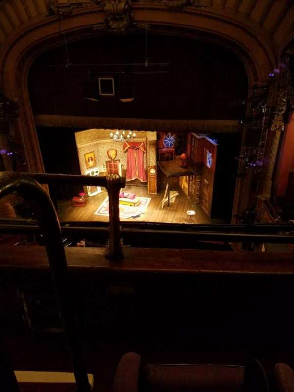 Lyceum Theatre (Broadway), vak: Balcony, rij: B, stoel: 2