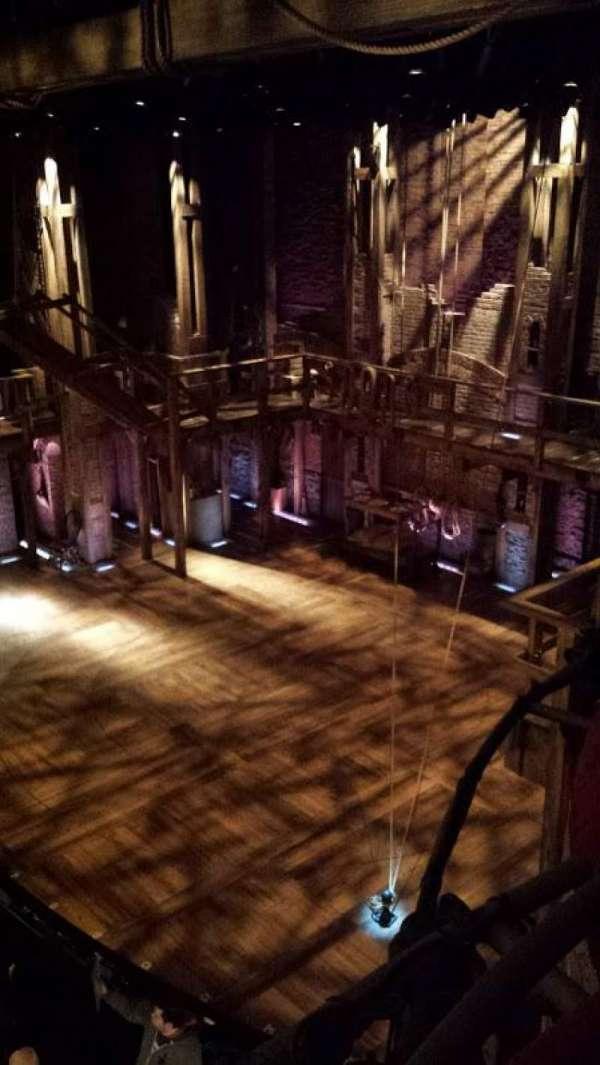 Richard Rodgers Theatre, vak: Box H, rij: 1, stoel: 4