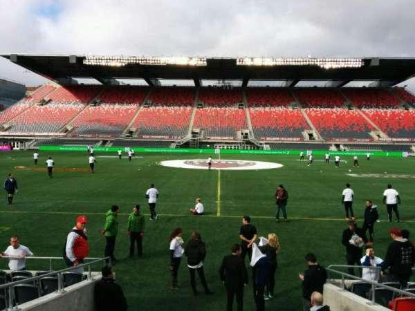 TD Place Stadium, vak: S, rij: 10, stoel: 12