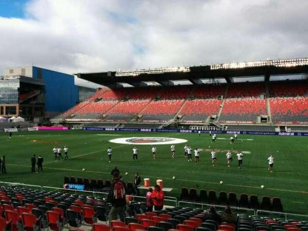 TD Place Stadium, vak: Q, rij: 17, stoel: 17
