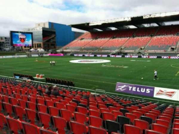 TD Place Stadium, vak: P, rij: 18, stoel: 10
