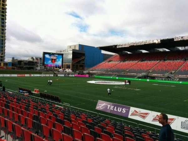 TD Place Stadium, vak: N, rij: 14, stoel: 23
