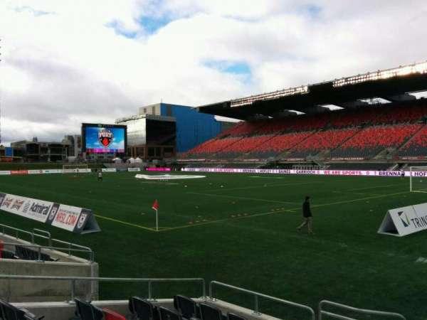 TD Place Stadium, vak: L, rij: 7, stoel: 13