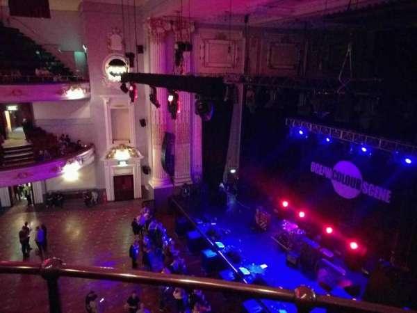 Usher Hall, vak: grand circle, rij: b, stoel: 4