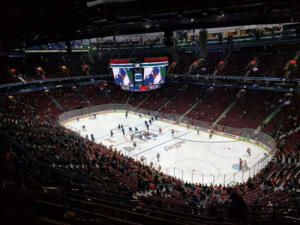 Rogers Arena, vak: 319, rij: 13, stoel: 106