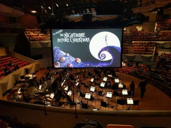 Boettcher Concert Hall, vak: Dress Circle 2, rij: i, stoel: 11