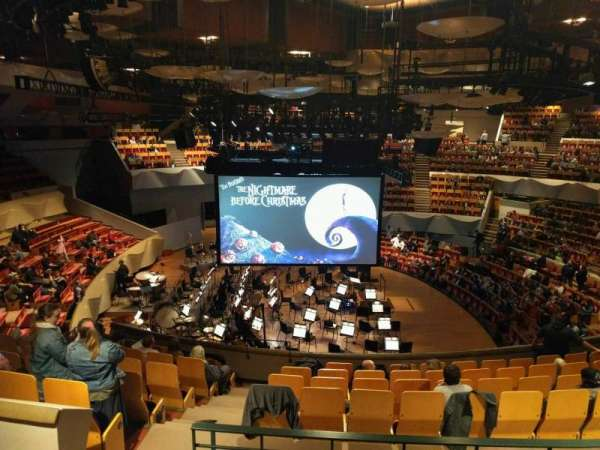 Boettcher Concert Hall, vak: Mezzanine 7, rij: n, stoel: 32