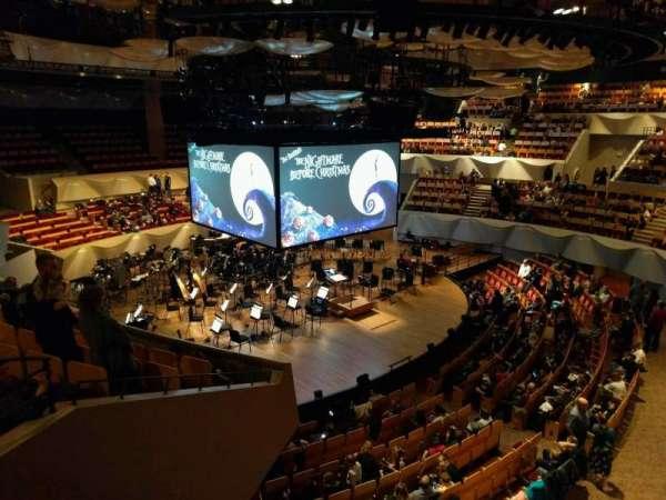 Boettcher Concert Hall, vak: Mezzanine 6, rij: k, stoel: 63