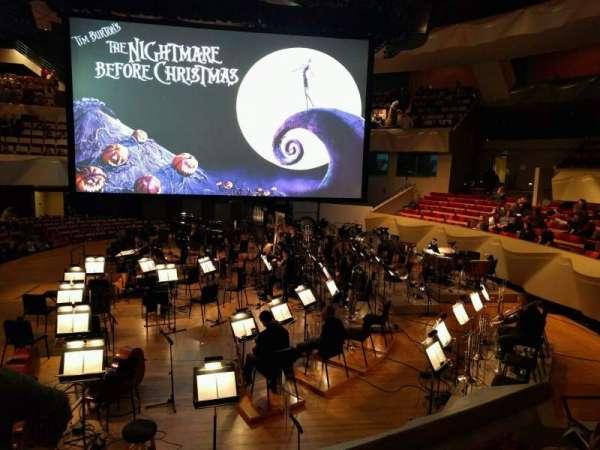 Boettcher Concert Hall, vak: Dress Circle 1, rij: c, stoel: 10