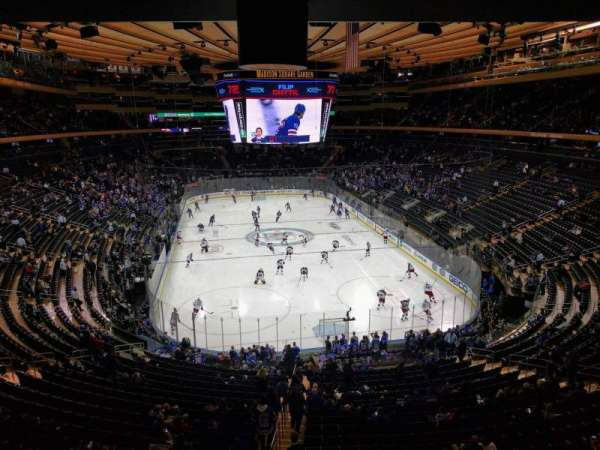 Madison Square Garden, vak: 217, rij: wc, stoel: 2