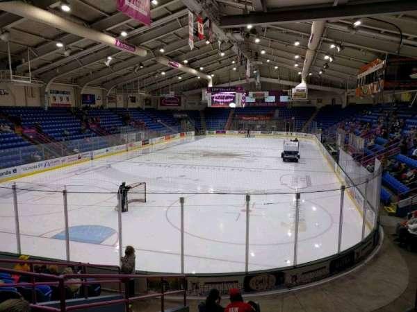 1st Summit Arena, vak: 21, rij: k, stoel: 6