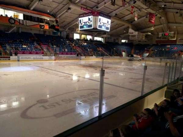 1st Summit Arena, vak: 13, rij: c, stoel: 7