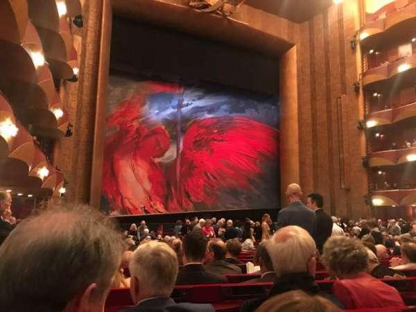 Metropolitan Opera House - Lincoln Center, vak: Orch, rij: V, stoel: 19