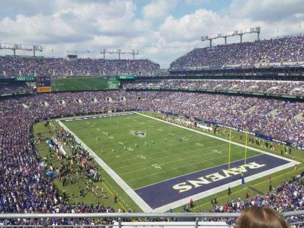 M&T Bank Stadium, vak: 517, rij: 3, stoel: 8