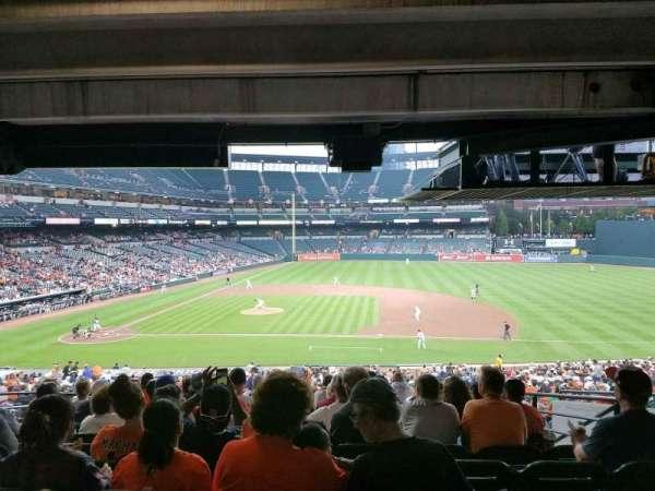 Oriole Park at Camden Yards, vak: 19, rij: 10, stoel: 12