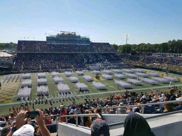 Navy-Marine Corps Memorial Stadium, vak: 131, rij: 17, stoel: 11
