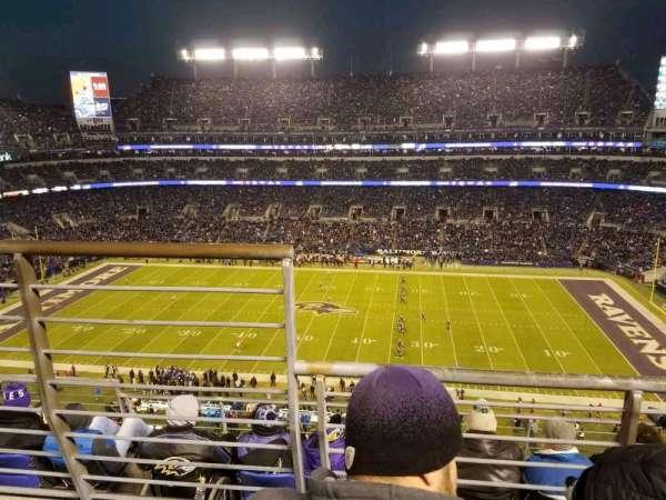 M&T Bank Stadium, vak: 525, rij: 5, stoel: 14