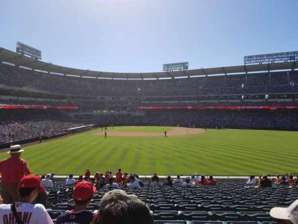 Angel Stadium, vak: P238, rij: K, stoel: 1
