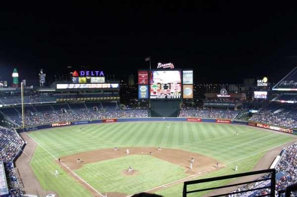 Turner Field, vak: 403L, rij: 3, stoel: 101