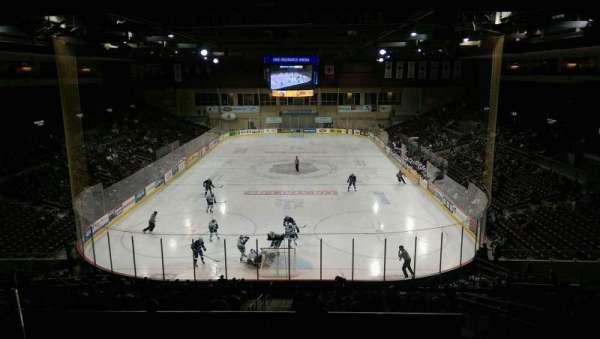 Erie Insurance Arena, vak: STE311, rij: A, stoel: 4