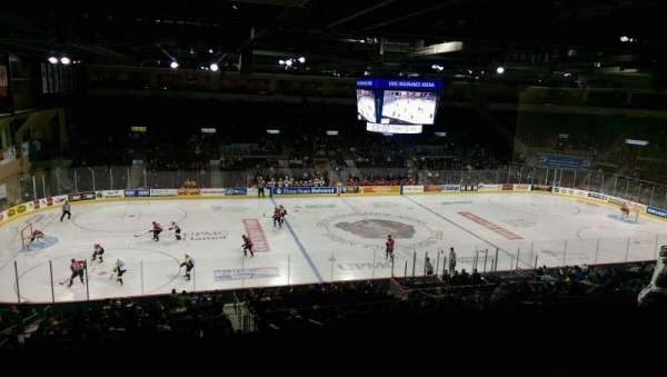 Erie Insurance Arena, vak: Suite 302, rij: SA, stoel: 7