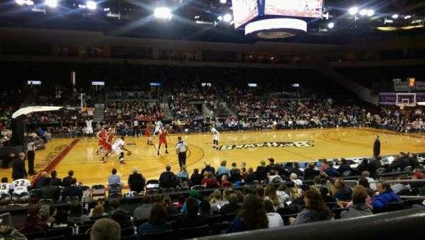 Erie Insurance Arena, vak: 203, rij: K, stoel: 11