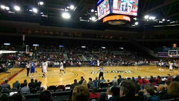 Erie Insurance Arena, vak: 103, rij: H, stoel: 9