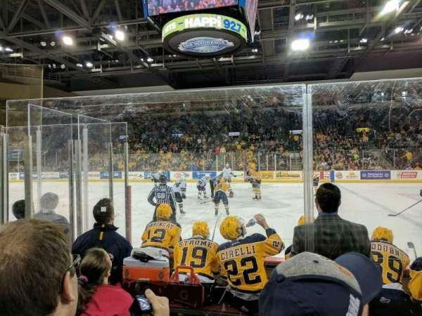 Erie Insurance Arena, vak: 119, rij: E, stoel: 2